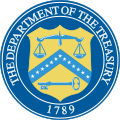 Dept of the Treasury Logo