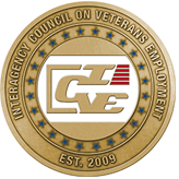 Seals of the Council on Interagency Council on Veteran Employment
